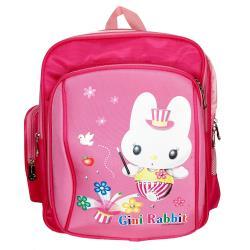 【Sunnybaby】麻吉家族舒適型超輕護脊書包-Gini Rabbit