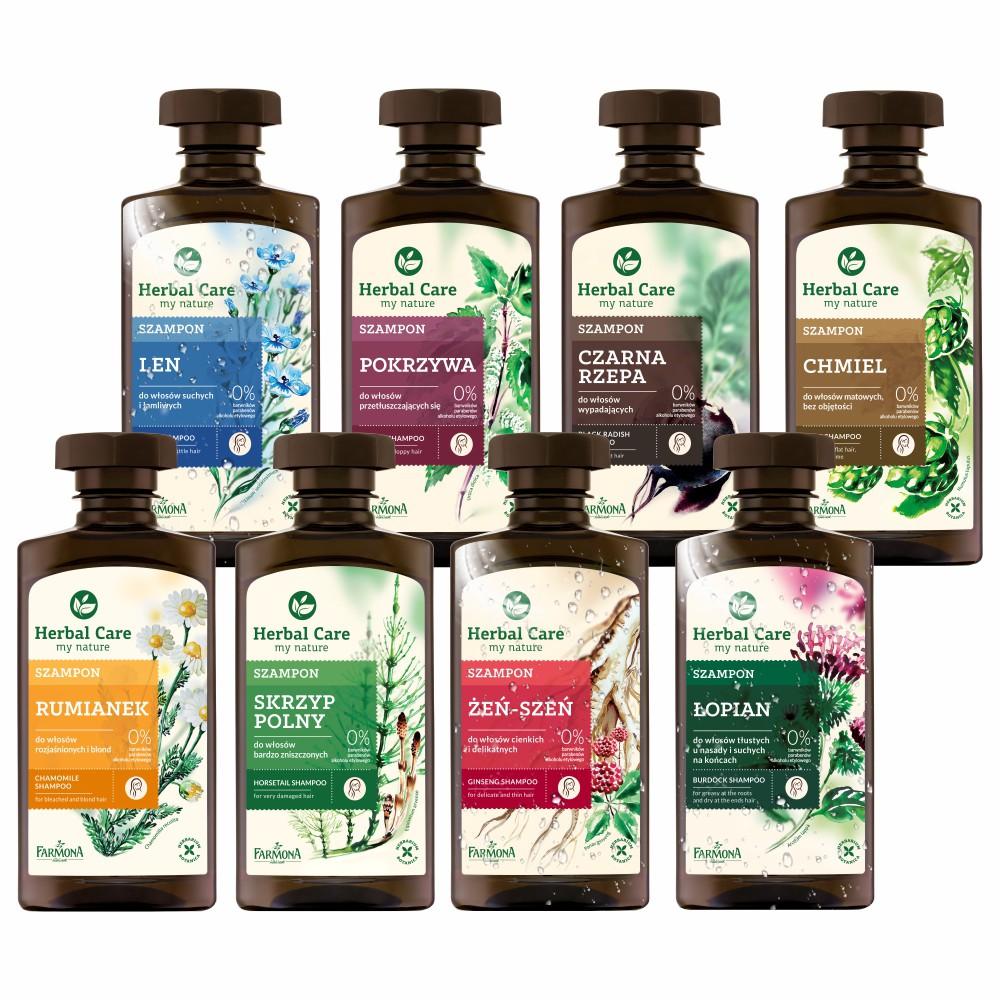 歐洲Herbal care 波蘭植萃 - 草本調理洗髮露 330ml (八款任選)