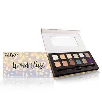 Cargo 眼影盤(12×眼影, 1×眼影刷) Wanderlust Eye Shadow Palette 12x0.8g/0.03oz - 組合