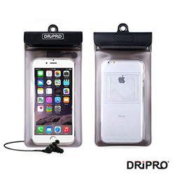 DRiPRO-5.5吋以下智慧型手機防水袋+耳機組