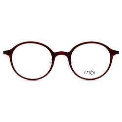 moi 北歐超柔無負擔光學眼鏡 - 紅 moi02-05