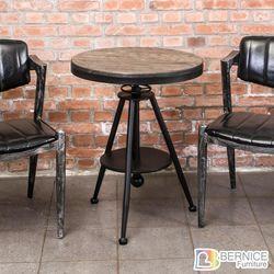 Boden-布蘭頓工業風實木升降小茶几/邊桌/吧台桌