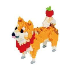 【Tico微型積木】動物狗系列-柴犬 T-9406