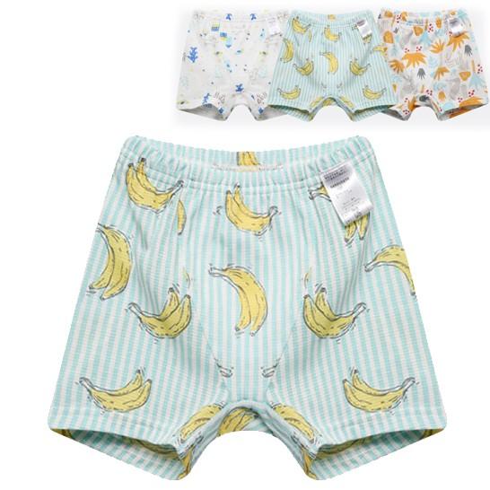 男童平口四角褲 三件一組 (3件一組) 橘魔法現貨在台灣 童裝 兒童【p0061168710419】