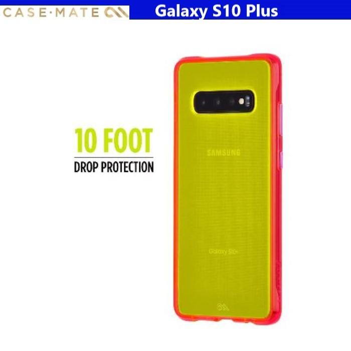 美國Case-Mate Galaxy S10+ / S10Plus Tough Neon 霓虹軍規防摔手機保護殼