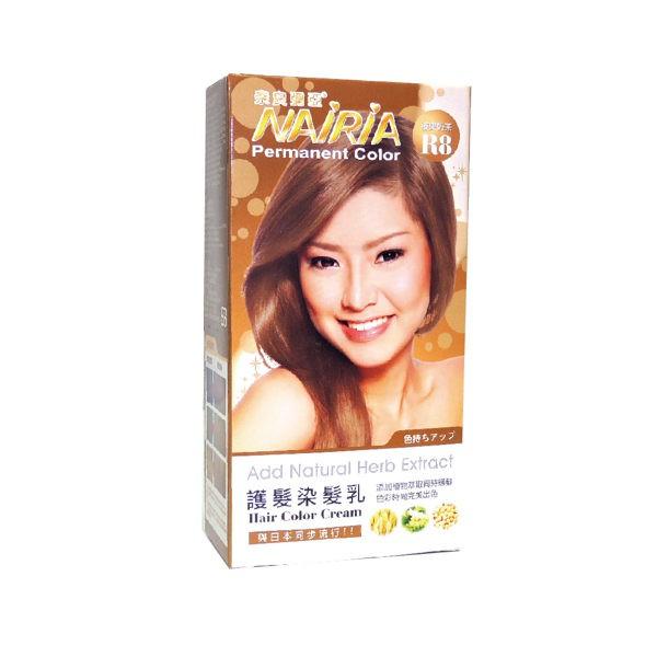 奈良彌亞 護髮染髮霜-R8榛果奶茶40ml