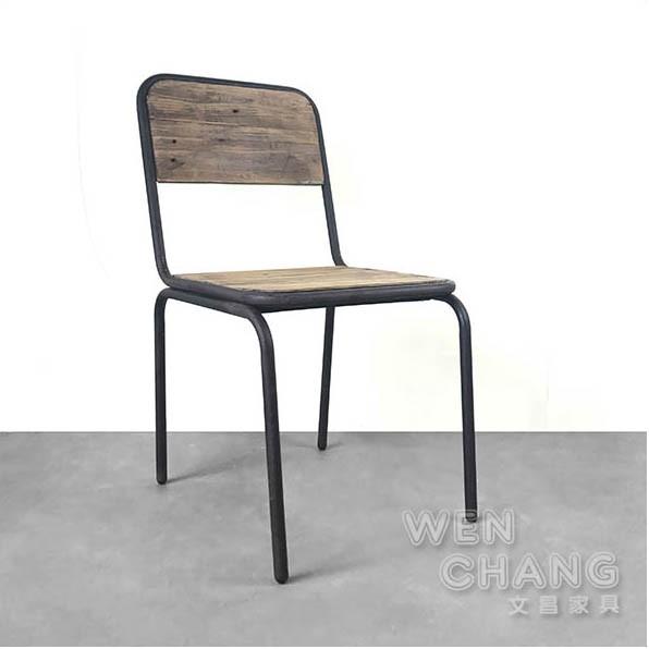 工業風學生椅 colorful student chair 烤漆榆木 CH041 文昌家具