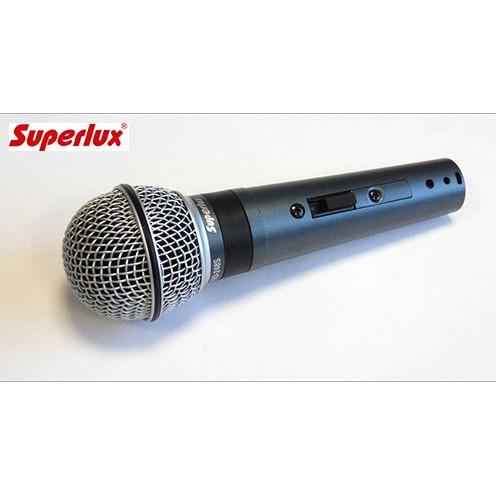 舒伯樂 Superlux PRO248S 專業動圈歌唱麥克風 公司貨 保固一年