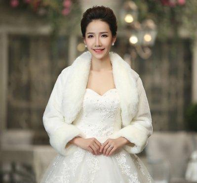 新款新娘婚紗披肩冬季旗袍外套伴娘禮服加厚長袖保暖毛披肩