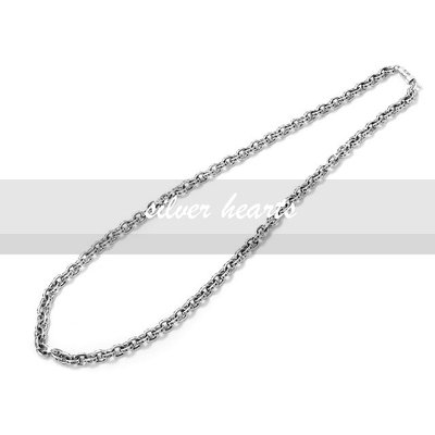 【SILVER HEARTS】Goro's Chrome Hearts克羅心Paper chain鎖鍊型60cm純銀項鍊