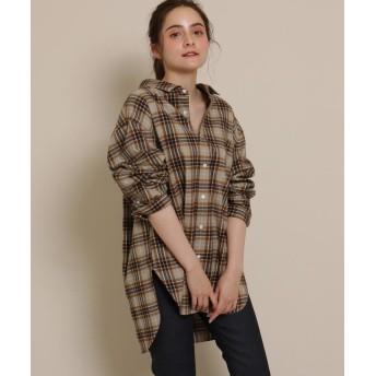 anatelier(アナトリエ) Gymphlex(R)(ジムフレックス)チェックシャツ