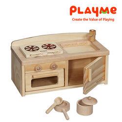 【PlayMe】羅伯特廚房~迷你扮家家酒廚房玩具