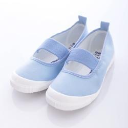 日本Moonstar抗菌防滑室內鞋(淺藍)中小童段-MS1951-(15cm~25cm)-m