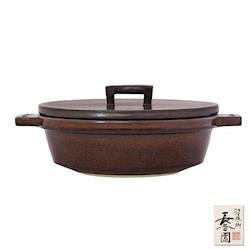 日本長谷園伊賀燒-小酒館珍味陶鍋-咖啡