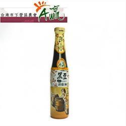 【下營區農會】黑豆清蔭油 420毫升/瓶