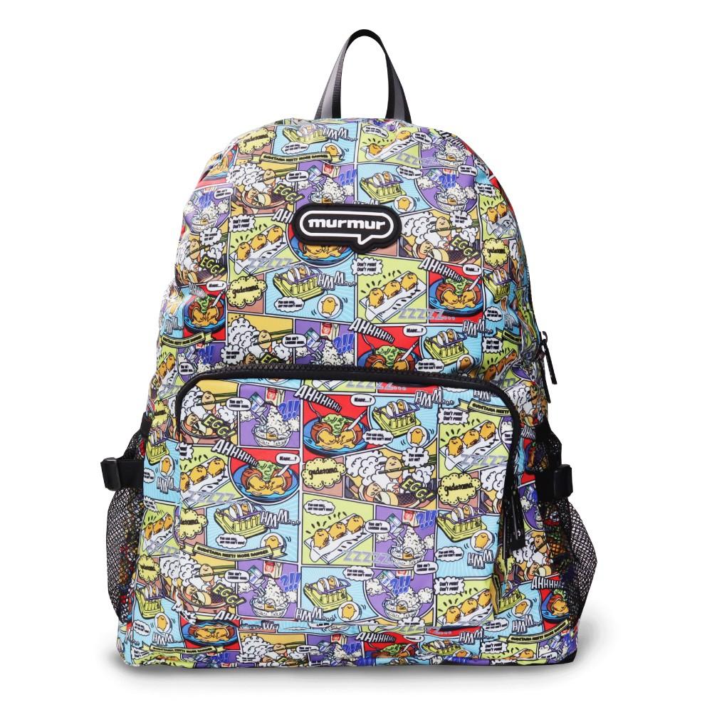 【murmur官方】 旅行收納-折疊後背包【蛋黃哥卡通】旅行收納 收納後背包 體積小大容量