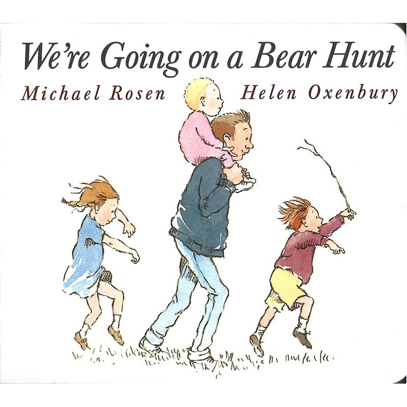 【麥克書店】WERE GOING ON BEAR HUNT|我們要去捉狗熊|廖彩杏老師推薦有聲書第20週