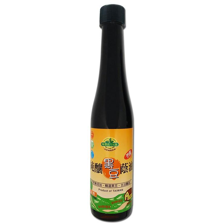 【味榮】純釀 黑豆蔭油油露420ml