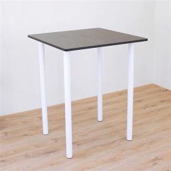 頂堅 寬80x高98/公分(PVC防潮材質)正方形吧台桌 高腳桌 洽談桌 酒吧桌(三色可選)