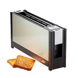 (德國原裝)ritter volcano 5 晶湛強化玻璃烤麵包機 透白