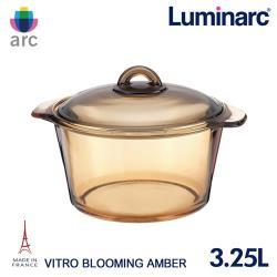 Luminarc法國樂美雅 Blooming 3.25L微晶透明鍋