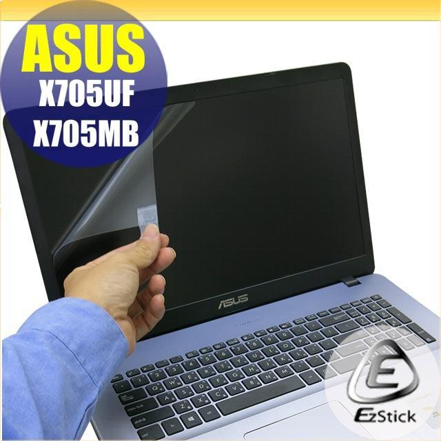 【Ezstick】ASUS X705 X705UF X705MB 靜電式筆電LCD液晶螢幕貼 (可選鏡面或霧面)