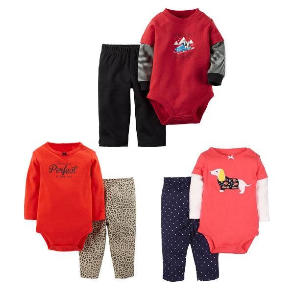 寶寶長袖套裝 長袖包屁衣+長褲 嬰幼兒童裝 LZ8914 好娃娃