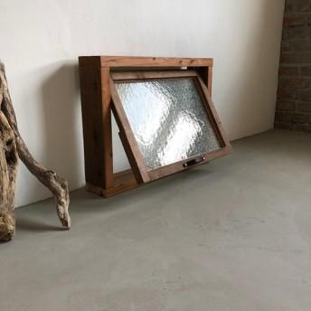 数量限定 OWW-COMPLETE サイズオーダー可 木枠付き 突き出し窓 ホイトコ付き 滑り出し窓 冊子 ガラス窓