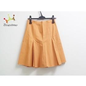 モスキーノ チープ&シック MOSCHINO CHEAP&CHIC スカート レディース オレンジ  値下げ 20190912