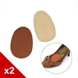 ○糊塗鞋匠○ 優質鞋材 D22 6mm豚皮前掌墊 (2雙/組)