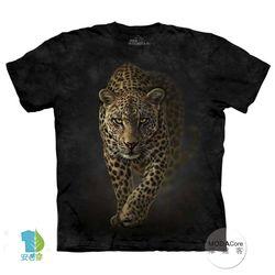 【摩達客】(預購)美國進口The Mountain 野花豹 純棉環保短袖T恤