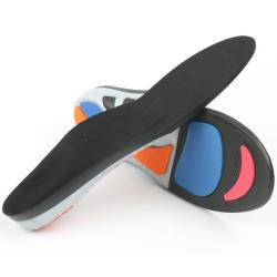 (預購)【JHS杰恆社】壹對防滑透氣減震鞋墊O型X型腿矯形強力足弓塑形矯正鞋墊RAKASO諾喀索口XD-712口LS47