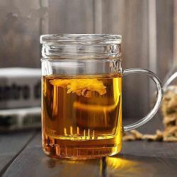 玻璃濾縫玻璃杯400ml(BY-TB07)