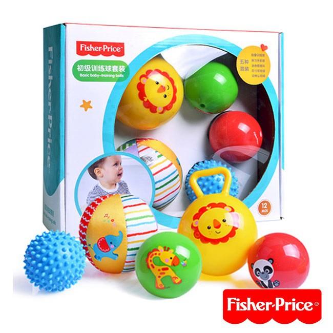 Fisher-Price費雪 初級訓練球套裝