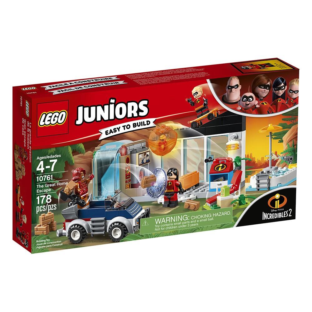 LEGO 樂高 Junior 系列 - LT10761 超人特攻隊2 超能家庭逃亡