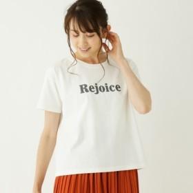[マルイ]【セール】ロゴプリントボクシーTシャツ/シューラルー(レディス)(SHOOLARUE Ladies)