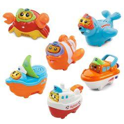 【Vtech】2合1嘟嘟戲水洗澡玩具系列(多款可愛任選)
