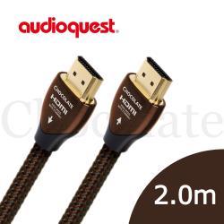 美國線聖 Audioquest HDMI Chocolate 巧克力 (2.0m) 支援4K 3D/公司貨
