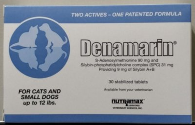 【小虎寵物】Denamarin 寶肝加強錠 90mg  30顆 SAMe 小型犬 / 貓  保肝 肝臟