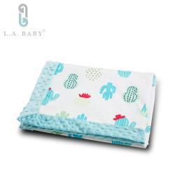 【美國 L.A. Baby】高級保暖樂豆毯 (輕柔) - 80 x 100 (cm)  9款