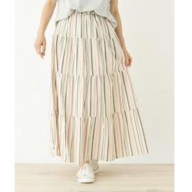 SHOO・LA・RUE / シューラルー ティアードアソートスカート