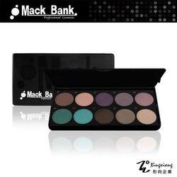 【Mack Bank】M05-06E 鑽石耀眼 眼影 腮紅 眼影盤 眼影盒 彩盤組(10色/組) (形向Xingxiang眼彩)
