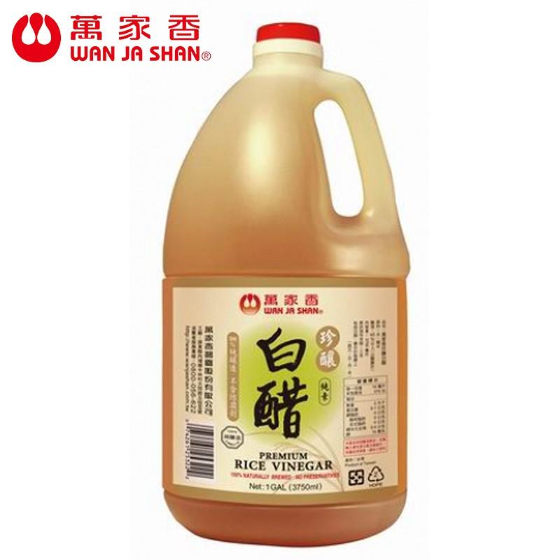 萬家香 珍釀白醋3750ml