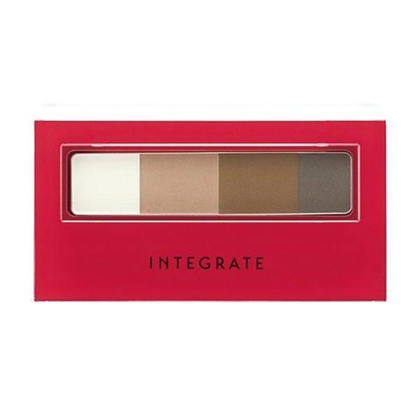 INTEGRATE立體光效四色眉粉盒BR631【康是美】