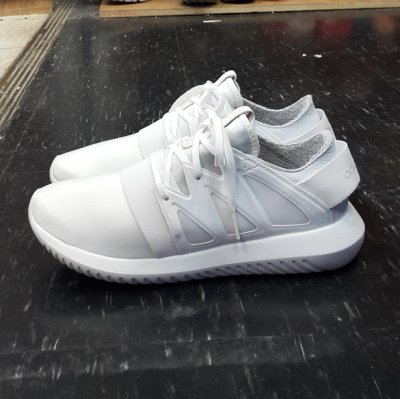 adidas TUBULAR VIRAL W C MAISON 梨花 白色 全白 帆布 皮革 繃帶鞋 日本 BA8671