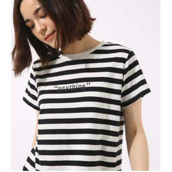 【AZUL by moussy:トップス】anything TEE