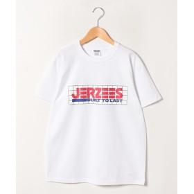 ジャーナルスタンダード JERZEESJS LOGO T2 ユニセックス ホワイト S 【JOURNAL STANDARD】