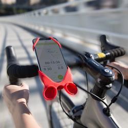 Bone / Bike Tie Speaker 單車手機揚聲器 - 黑 / 灰 / 紅
