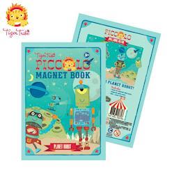 【BabyTiger虎兒寶】TIGER TRIBE 遊戲磁鐵口袋書 - 機器人星球