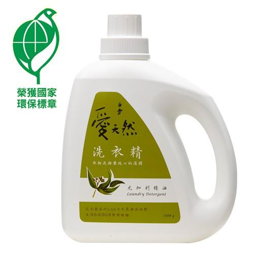 白雪-愛天然洗衣精(尤加利) (1800g)